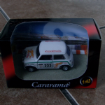 cararama 1:43 Classic Austin Mini cooper racing demon tweeks car @sold@
